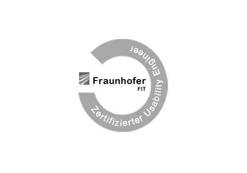 Fraunhofer FIT Zertifizierter Usability Engineering